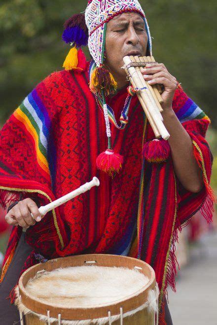 Peruvian music & dance show. Peruvian musician. Repinned by Elizabeth VanBuskirk. Music & dance are important Inca activities ...