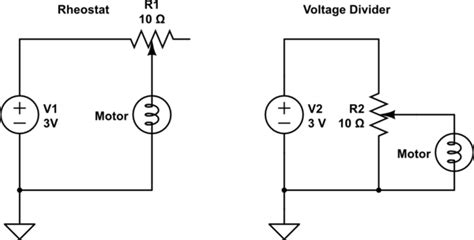 Controlling Volt Motor With Potentiometer