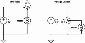 Controlling A 3 Volt Motor With A Potentiometer