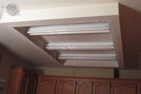 Bathroom Fluorescent Light Fixtures by Removing A Fluorescent Kitchen Light Box Kitchen Ideas