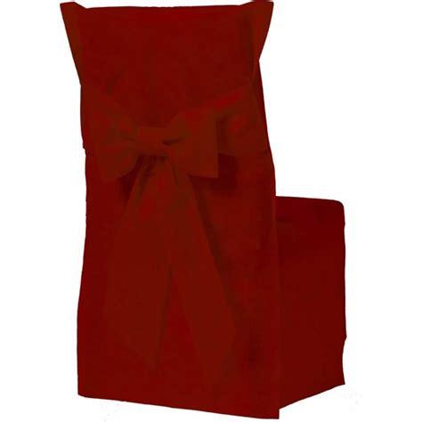 housses de chaises jetables housse de chaise couleur bordeaux x6