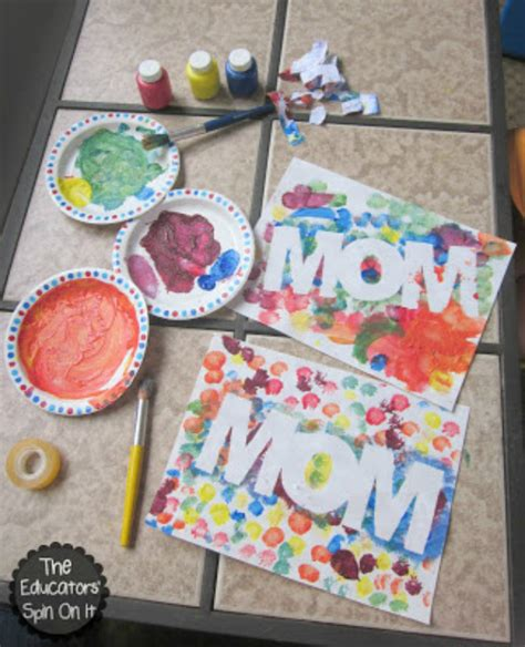preschool mothers day crafts diy mother s day crafts for kids blissfully domestic