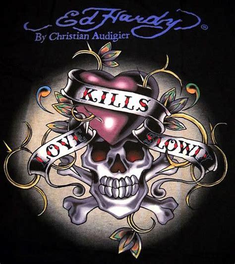 Hardy Love Kills Slowly Skull Picturescafe
