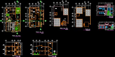 Minimalist House Room Type D Dwg Full Project For Autocad