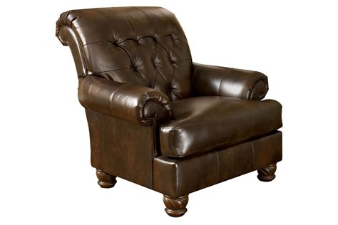 fresco bonded leather accent chair