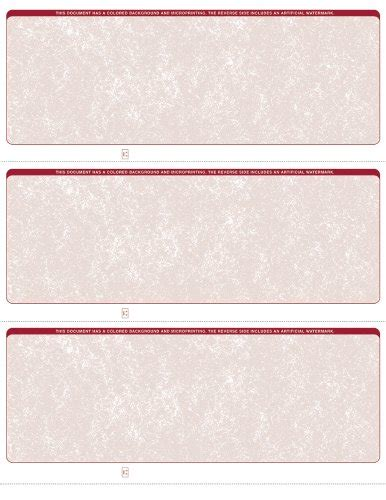 versa business check paper form 3000 versacheck security business check refills form 3000