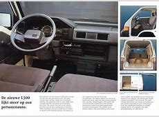 1987 Mitsubishi L300 brochure