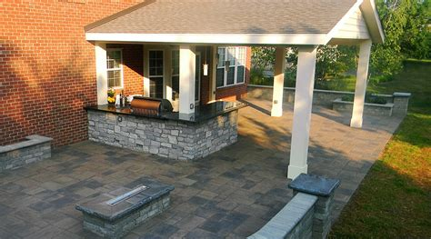 covered patio and roofs landscaping outdoor kitchens
