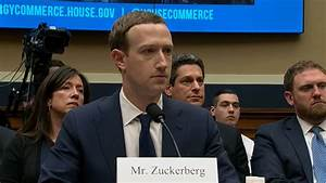 Mark Zuckerberg sits in front of US lawmakers over data ...