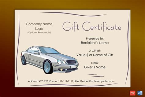 special day   gift certificate template gct