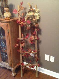 Antique Ladder Stocking Holder Christmas