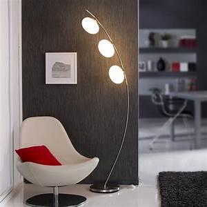 Lampadaire Interieur Design : lampadaire colby 178 cm blanc 40 w leroy merlin ~ Teatrodelosmanantiales.com Idées de Décoration