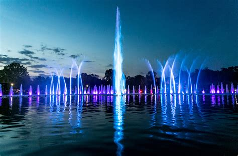city park water and light installation is here at wroclaw multimedia visitwroclaw eu Inspirational