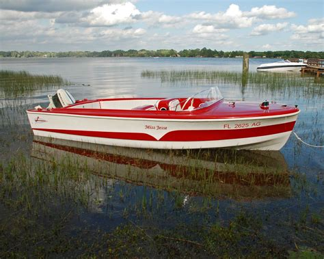Larson Runabout Boats by 1959 Larson All American 16 Runabout Restoration
