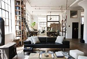 industrial design inspiring lofts with industrial style With interior decorator brooklyn