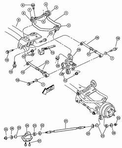 Chrysler 300 Rear Suspension Diagram