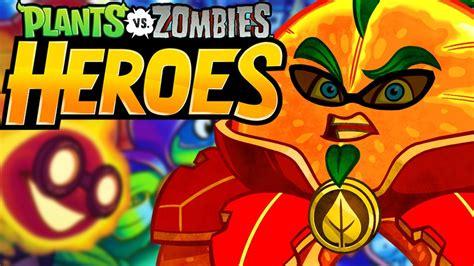 plants heroes vs citron pvz battle game