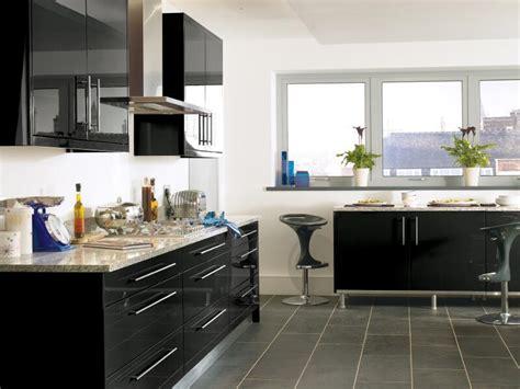 black kitchen design ideas high gloss kitchen cabinet design ideas 2015 kitchen