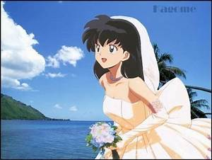 Post a picture of a anime girl in a wedding dress. - Anime ...