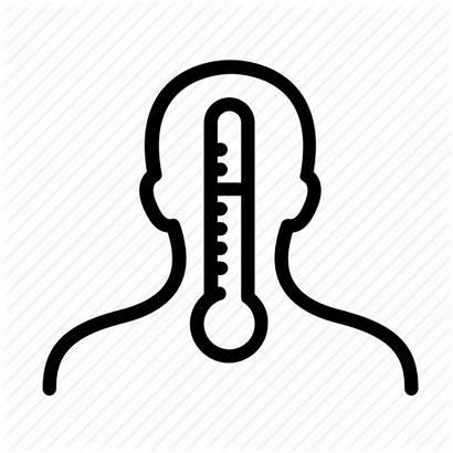 Temp Temperature Icon Fever Transparent Thermometer Cold