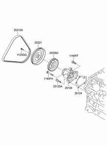 2510023022 - Hyundai Pump Assembly