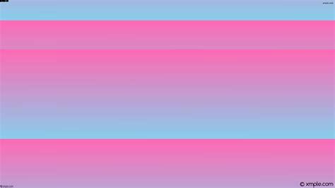 Wallpaper blue pink gradient linear #ff69b4 #87ceeb 15°