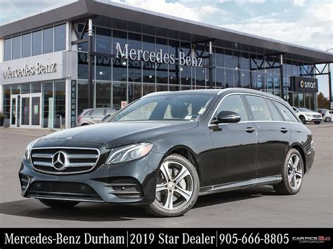 Mercedes 2019 E450 by New 2019 Mercedes E450 4matic Wagon Wagon In Whitby