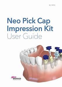 Pick Cap Impression Kit User Guide By Kei Lim