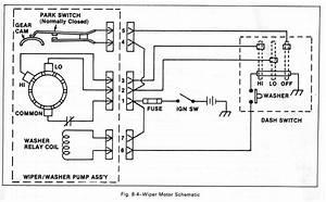 Universal Wiper Motor Wiring Diagram