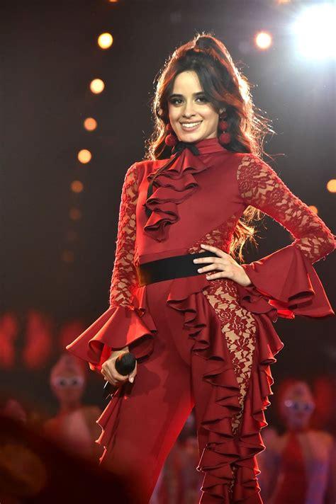 Camila Cabello Performs Live Mtv European Music Awards