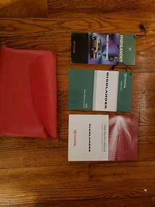 2008 Toyota Highlander Owners Manual Book Excellent