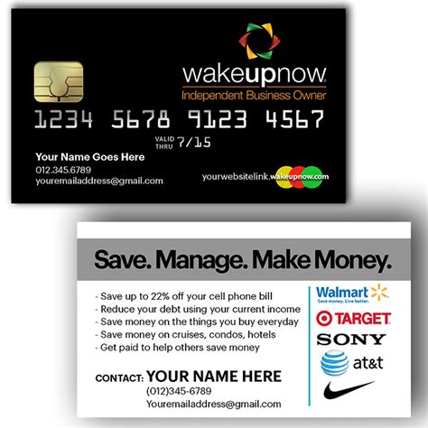 Itworks Global Business Cards Templates