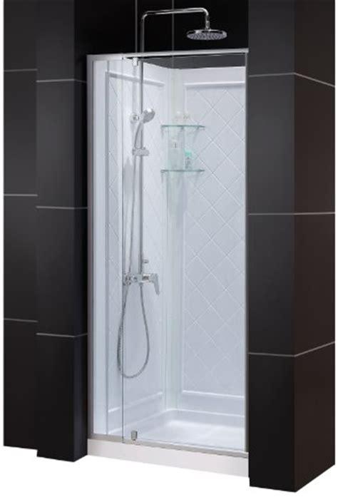 32 Inch Shower Door - dreamline dl 6131c 01cl flex frameless pivot shower door