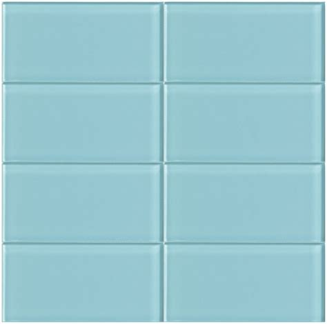 blue subway tile blue glass subway tile breaker modwalls lush 3x6 tile