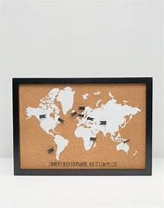 Carte Du Monde Liège : new look new look tableau en li ge paillet avec carte du monde ~ Teatrodelosmanantiales.com Idées de Décoration