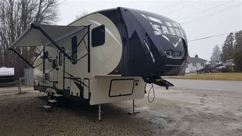 two bedroom fifth wheel 2016 sabre lite 28bh luxury ultra lite 2 bedroom 5th wheel 17659 | maxresdefault