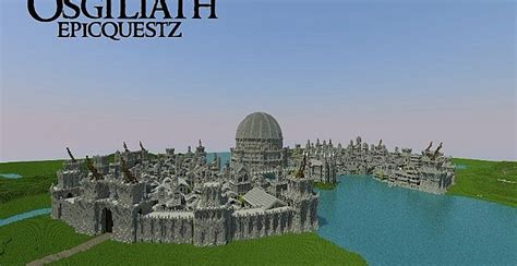 osgiliath ancient capital  gondor minecraft building