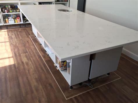 gloss white bianco carrara marble quartz worktops