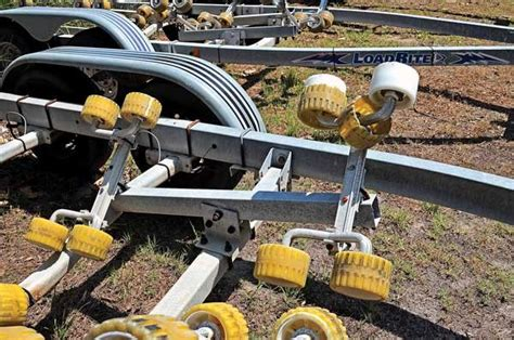 Boat Us Trailer Insurance by Replacing Trailer Rollers With Bunks Trailering Boatus