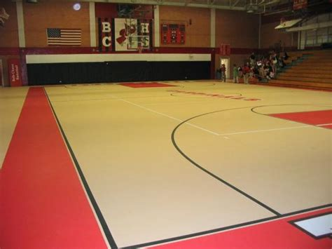 synthetic athletic floor elastiplus poured urethane