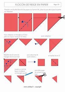 Flocon De Neige En Papier Facile Maternelle : flocon de neige en papier facile ~ Melissatoandfro.com Idées de Décoration
