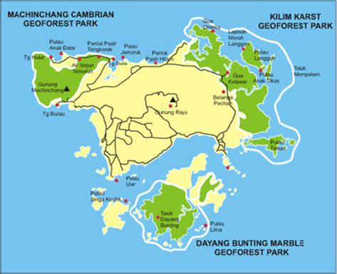map  langkawi geopark  show  location