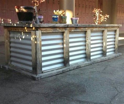 rustic wooden pallet bar rustic backy