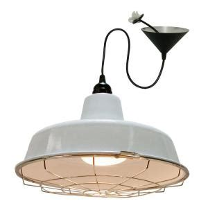 homeselects 1 light white led bulb hanging pendant with
