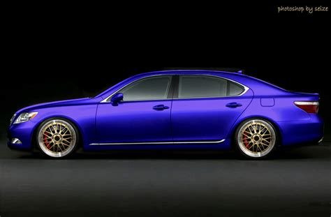 purple lexus sweet long hair lexus ls 460 rims