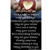 Birthday Poems For Dad – WishesMessagescom