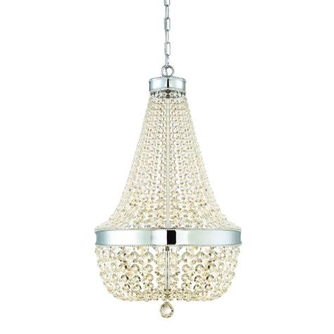 home decorators collection lighting home decorators collection 6 light chrome
