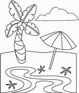 Coloring Beach Pages Printable Plage Fun Dessin Sheets Colorier Disney Summer Preschoolers Coloriage Sheet Together Maternelle Beaches Imprimer Para Drawing sketch template
