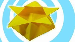 Origami Pentagon Star Box Tutorial