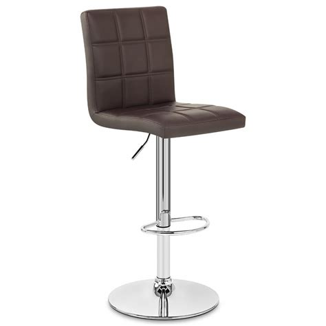 chaise de bar cuir chaise de bar faux cuir criss cross monde du tabouret